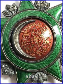 Superbe RARE ancienne GRANDE MEDAILLE MILITAIRE Turquie ORDRE DE LOSMANIYE