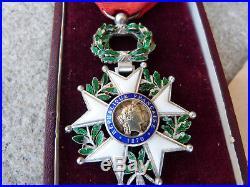 Superbe chevalier de la légion d'honneur luxe nominative 14-18 diplome 89 RI