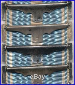 Superbe médaille coloniale avec 14 agrafes à clapet