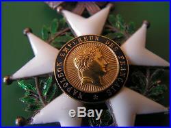 Superbe medaille napoleon empereur des francais