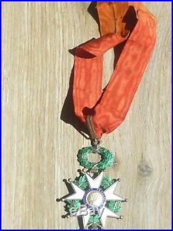 Superbe médaille ordre de commandeur de la légion d'honneur 1870 french medal