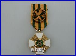 Superbe officier de l'ordre de la couronne du chene du Luxembourg