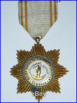 T3 Belle médaille Ordre Royal de l'étoile d'Anjouan Comores modal