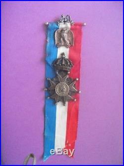 TITULAIRE DE LA LEGION D HONNEURVETERANS. ARMEE IMPERIALE. NAPOLEON 1er