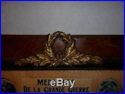 Tableau LOT DE MéDAILLES Souvenir/14-18/ 19ème bataillons Chasseurs à pied