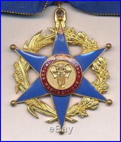 Tchad Ordre du mérite civique, étoile de commandeur
