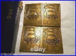 Tres Rare Coffret Dga Dcn Médailles Bronze Plaques Histoire Marine Francaise