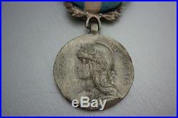 Tres Rare Medaille Coloniale Etat Francais