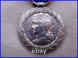 Très Rare Médaille de la Campagne du SOUDAN 1892 Argent french Sudan medal war