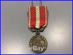 Très Rare medaille de la valeur militaire 1er type