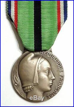 Très rare 1er type de la Médaille du Patriote Proscrit / Patriotes Proscrits