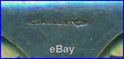 Très rare barrette en or 18 carats De l'Atlantique a la mer rouge