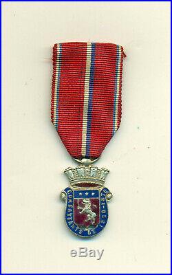 Très rare médaille de 1870 1871 pour les anciens combattants de Lyon
