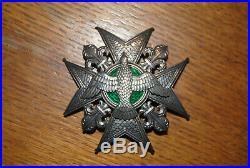Tres rare plaque Ordre du Saint-Esprit, plaque de chevalier en argent