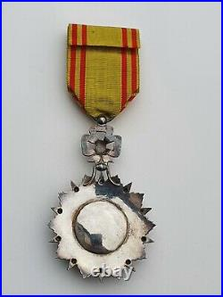 Tunisie Ordre du Nicham Iftikar, étoile d'officier, Mohamed el Habib 1922-1929