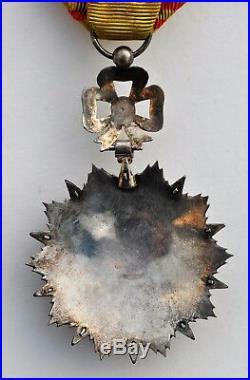 Tunisie Ordre du Nicham Iftikar, étoile d'officier, Mohamed el Naceur 1906-1922