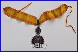 Tunisie Ordre du Nicham Iftikar, étoile de Commandeur, Mohamed el Hamin 43-57