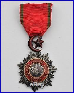 Turquie Ordre du Medjidié, chevalier en argent