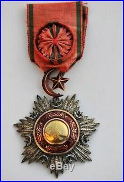 Turquie Ordre du Medjidié, officier, Second Empire, guerre de Crimée 1854