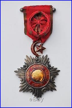 Turquie Ordre du Medjidié, officier, époque Second Empire guerre de Crimée