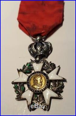Variante Legion d'honneur 3eme type, 1er empire modifiée sous la restauration