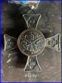 Vatican Croix de Mentana d'officier