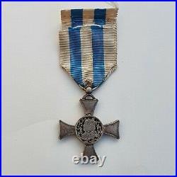 Vatican Croix de Mentana, modèle pour officier, effigie du Pape