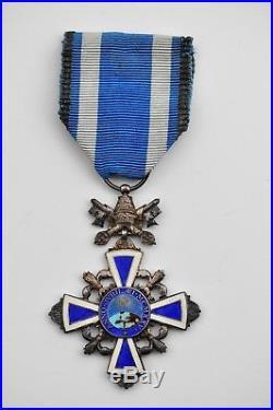 Vatican Croix du Bénémerenti, année sainte 1925, dans son écrin d'origine