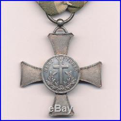 Vatican Croix du Mentana en argent