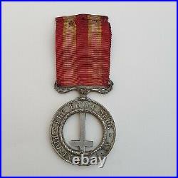 Vatican Médaille de Castelfidardo, 1860, maillechort, bélière pivotante