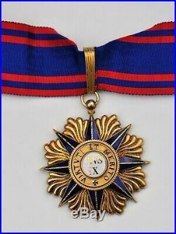 Vatican Ordre de Pie IX, commandeur en vermeil