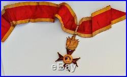 Vatican Ordre de Saint Grégoire, commandeur en or, militaire, Dr. Castano