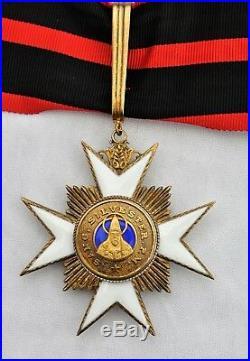 Vatican Ordre de Saint Sylvestre, commandeur en vermeil