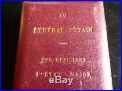 Verdun 1914 1918 au Vainqueur de verdun General Pétain le 8 Octobre 1914