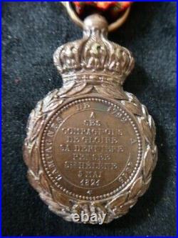 Vétérans Frères d'armes débris Grande Armée Société Philanthropique 1860