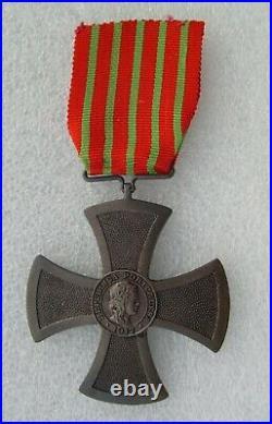 WW 1 CROIX DE GUERRE DU PORTUGAL 1914-1918 medaille