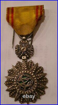 -chevalier Ordre Du Nichan Al Iftikhar Mohamed El Naceur Bey 1906-1922